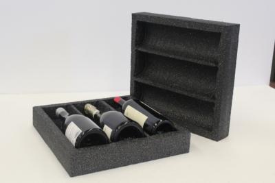 Embalaje EPS corcho para botellas